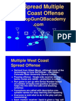 West Coast Spread Offense