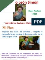 Ricardo Leon Simon School Prefect 2021
