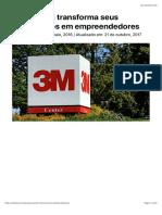 Case 3M e o Perfil Intraempreendedor | Endeavor Brasil