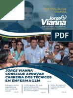 Informativo Deputado Distrital Jorge Vianna - Ano III - Edição 6 - Fevereiro 2021