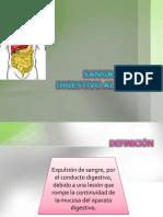 Sangrado Tubo Digestivo Alto y Bajo