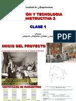 1.GESTIÓN Y TECNOLOGIA CONSTRUCTIVVA. CLASE 1