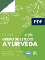 Ayurveda_ GRUPO DE ESTUDIO