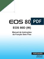 Canon EOS 80D - Manual WiFi PT