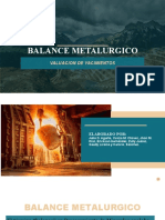 Expo de Balance Metalurgico
