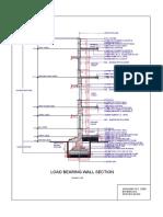 Aishwarya Zade-ba18arc013-Load Bearing Wall Section -Specification