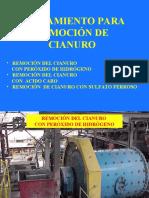 Clase 7 Remoción de cianuro