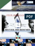 Recueil des Résumés CNTA'09