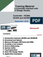 HCiR Training With HCi Design Studio on HC900 Ver 1 0