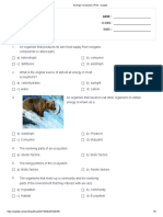 Ecology Vocabulary _ Print - Quizizz111