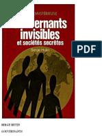 Gouvernants Invisibles et Socie - Esoterisme