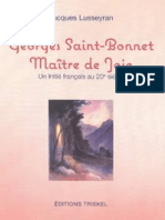 Georges Saint-Bonnet - Esoterisme