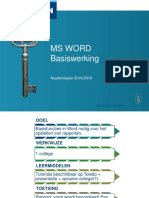 Word Basiswerking v1