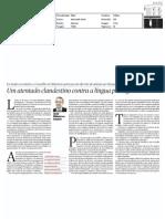 Um atentado clandestino contra a língua portuguesa - artigo PÚBLICO 25-nov-2010