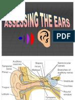 ASSESSING THE EARS