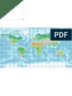 16.Harta fizica a lumii