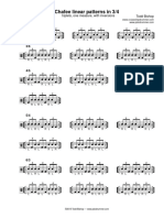 Pdxdrummer.com Chaffee Patterns in 3 4 1 Meas