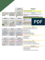 Calendario UCM 2020-21