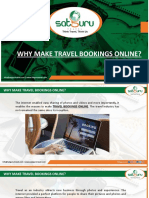 Why Make Travel Bookings Online