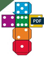 Игрушки и постеры - Кубик с точками