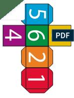Игрушки и постеры - Кубик с цифрами