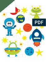 Игрушки и постеры - Планеты и инопланетяне