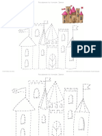 Рисование по точкам - Замок