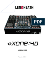Allen & Heath Xone 4D manual