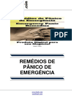 Remédios de Pânico de Emergência (Emergency Panic Remedies)