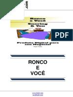 Ronco e Você (Snoring & You)