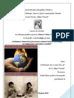 """""""Schimbarea climaterică şi fenomenul combaterii sărăciei"""