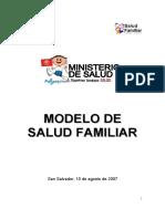 09012012 3Modelo de Salud Familiar