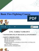 Basic Fire Fighting Training, IADC, DIT- Final 2