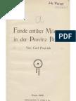Funde antiker Münzen in der Provinz Posen / von Carl Fredrich