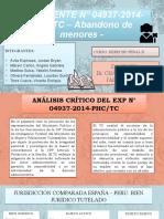 EXPEDIENTE N 04937-2014-PHCTC 26.10.2020 ABANDONO