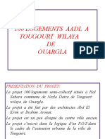100 LOGEMENTS  AADL  A  TOUGOURT  WILAYA