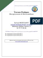 Travaux Pratiques - Microprocesseurs Microcontrôleurs