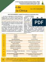 Boletim Farmacia Clinica SESDF n.5 Out 2018 Fasthug Maidens