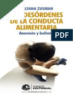 Zusman, Lillyana (2009) Los desórdenes de la conducta alimentaria. Anorexia y bulimia