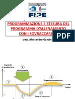 Programmazione e Stesura Del Programma Di Allenamento