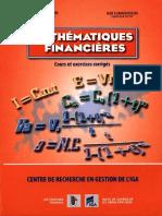 Livre de Mathematiques Financiers