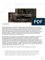 A Ética Calvinista - Gordon Clark