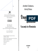 Dumnezeu vs Satana. Vacanta in Romania - Andrei Ciobanu, Ionut Rusu