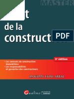Droit de la construction - 3e édition