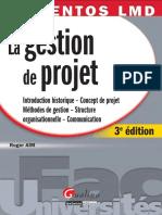La Gestion de Projet - 3e Édition