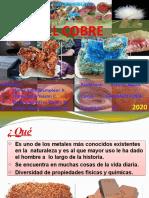 SESION 5 - EL COBRE