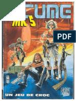 Bitume MK5 jeu de role Livre de Base