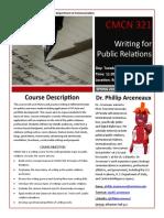 syllabus - public relations writing sp20