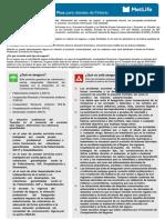 0931 Documento Plan de Protección de Recibos Plus