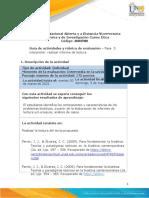 Guía de Actividades y Rúbrica de Evaluación - Unidad 2 - Fase 3 - Interpretar - Realizar Informe de Lectura (1)